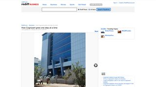 How Cognizant grew one step at a time - Rediff.com Business