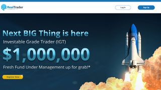 IGT – Investable Grade Trader