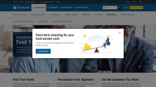 Investments | Prudential Financial