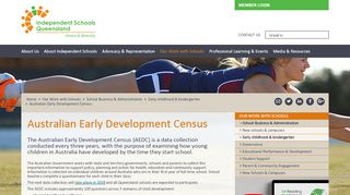 ISQ - Australian Early Development Census