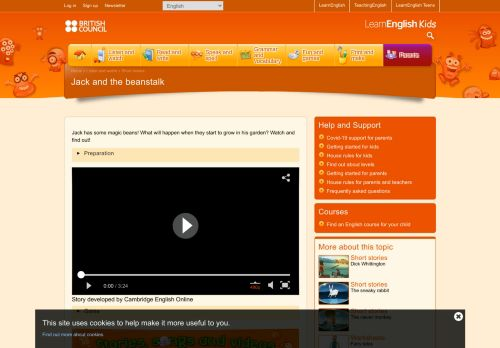 Jack and the beanstalk   LearnEnglish Kids   British Council