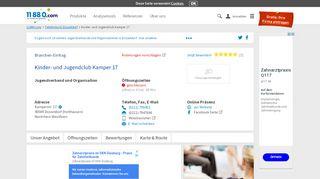 ▷ Kinder- und Jugendclub Kamper 17   Tel. (0211) 7994... -