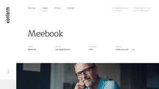 Konform - Læringsplatform Meebook - Konform A/S