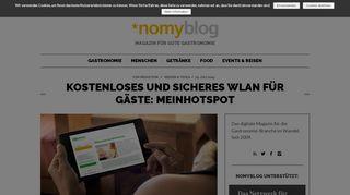 Kostenloses und sicheres Wlan für Gäste: MeinHotspot | nomy