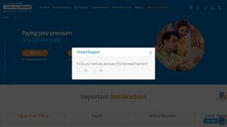 Life Insurance Payment And Renewal Online   Bajaj Allianz Life