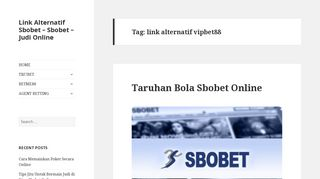 link alternatif vipbet88 - Agen Sbobet