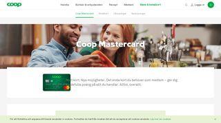 Mastercard SecureCode   Trygga kortköp på nätet   MedMera ... - Coop