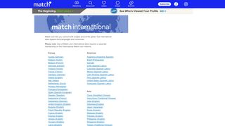 Match International - Match - Find Singles with Match's Online Dating ...