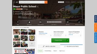 Mayur Public School, Patparganj - Mayura Public School - CBSE ...