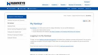 My Hawkeye - Hawkeye Community College