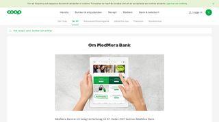 Om MedMera Bank - Coop
