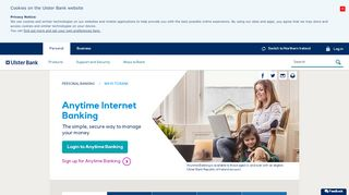 Online banking - Ways To Bank   Ulster Bank