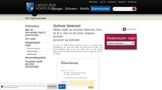 Outlook Webmail - www.langelandkommune.dk