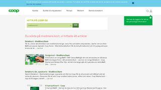 Övriga kort - MedMera Bank - Coop