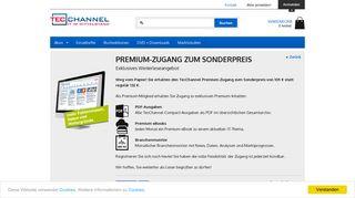 Premium Zugang zum Sonderpreis - Paket - TecChannel