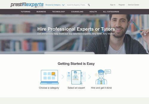 PrestoExperts.com – Online Expert Services 24/7
