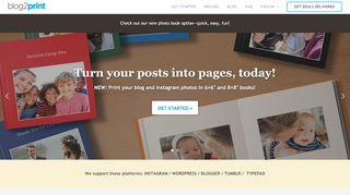 Print My Blog Book – blog2print
