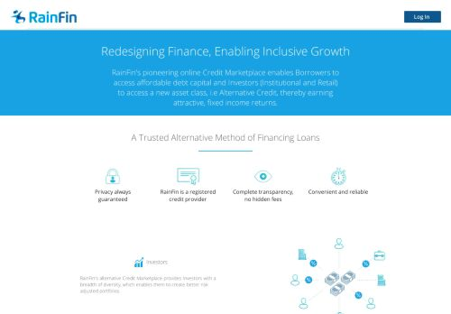 RainFin Credit Marketplace