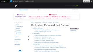 Security (Symfony Best Practices)