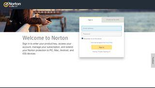 Sign In - Norton Secure Login