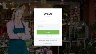 Site Manager - Login   Webs