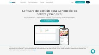 Software de gestión para tu negocio de belleza y bienestar - BEWE.io