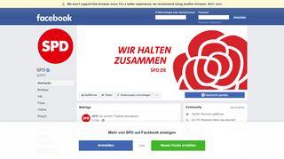 SPD - Startseite   Facebook