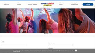 Sports Direct Fitness > Registration