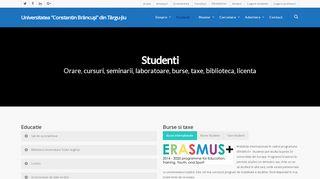 Studenti - Studenţi | Universitatea