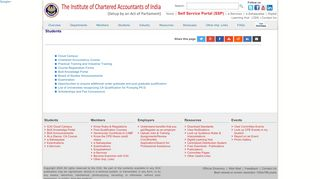 Students - ICAI - The Institute of Chartered Accountants of India