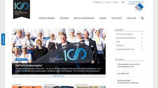 Studierendenwerk Aachen: Start