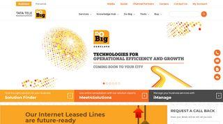 Tata Tele Business Services - India's Leading Enterprise Internet ...