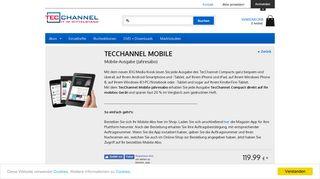 TecChannel Mobile-Abo - iPad-Abo - TecChannel