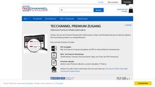 TecChannel Premium - Premium Abo - TecChannel