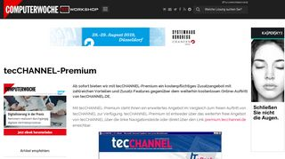 tecCHANNEL-Premium - TecChannel Workshop
