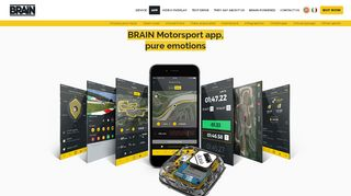The App – BRAIN dose – performance tracking system