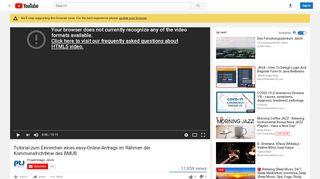 Tutorial zum Einreichen eines easy-Online-Antrags im Rahmen der ...