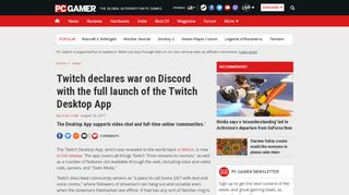 Twitch declares war on Discord with the full launch of the Twitch ...
