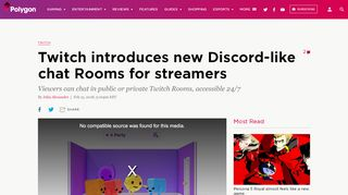 Twitch introduces new Discord-like chat Rooms for streamers ...