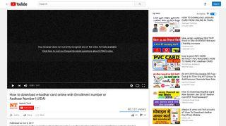 UIDAI - YouTube