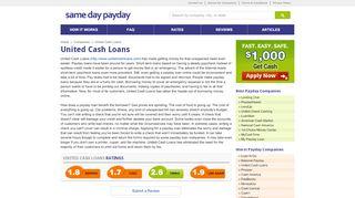 United Cash Loans - SameDayPayday.com