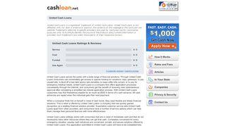 United Cash Loans