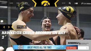 University of Iowa Athletics - Official Athletics Website