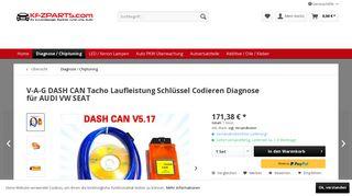 VAGDash Can für Audi / VW / Seat / Skoda Fahrzeuge geeignet ...