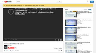 VCDS Module 1 Security access - YouTube