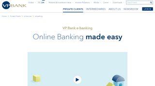 VP Bank - e-banking