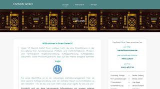vp login | CIVISION GmbH