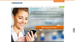 WebSMS, Email to SMS & Mobile Messaging Service   Bulletin ...