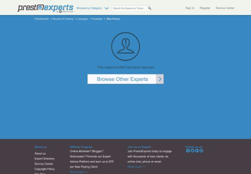 Wise Person Online expert at PrestoExperts - LivePerson