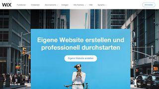 Wix.com: Kostenlose Website erstellen | Eigene Homepage erstellen